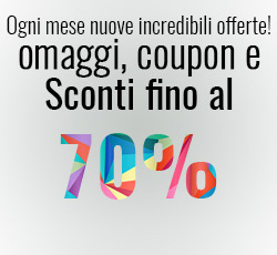 Offerte Mensili Sconti fino al 70%